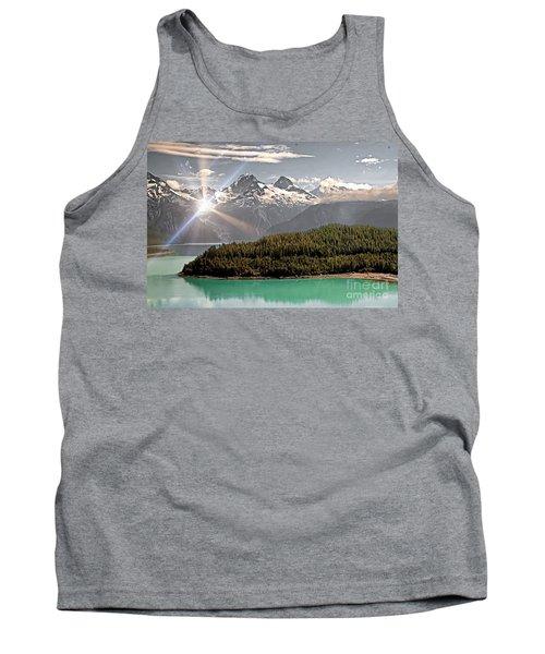 Alaskan Mountain Reflection Tank Top