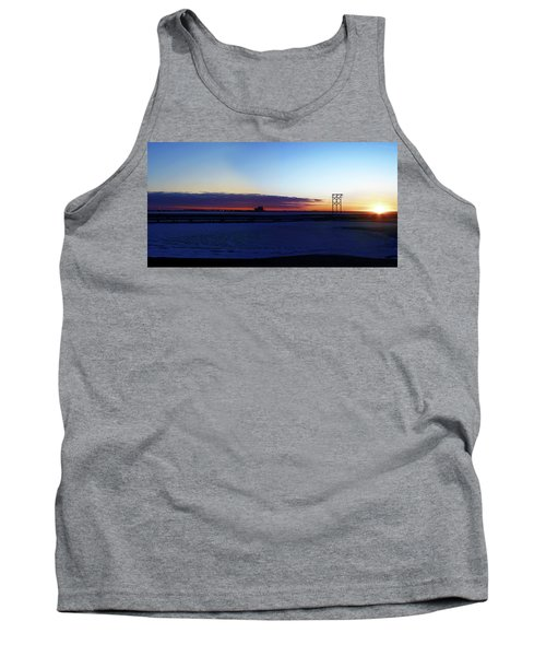 Alaskan Sunrise Tank Top