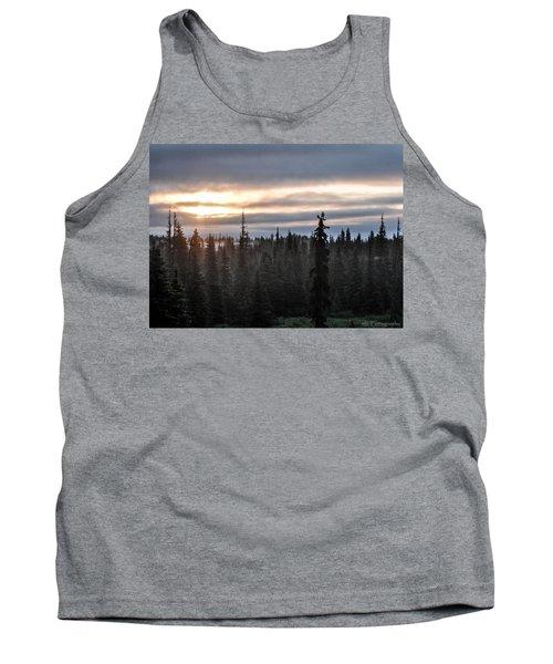 Alaskan Sunset Sunrise Tank Top
