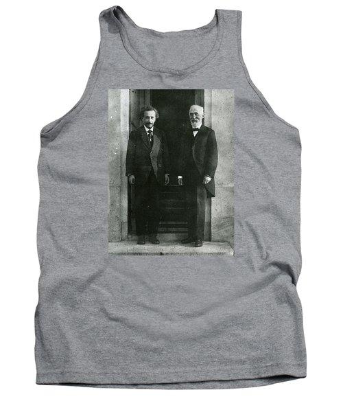 Albert Einstein And Hendrik Antoon Lorentz Tank Top