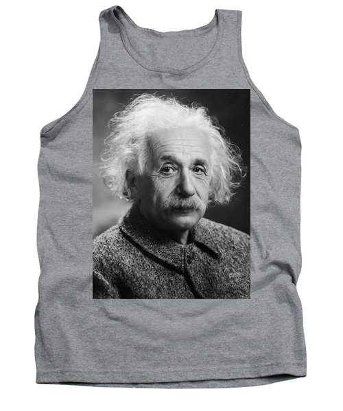Albert Einstein Tank Top