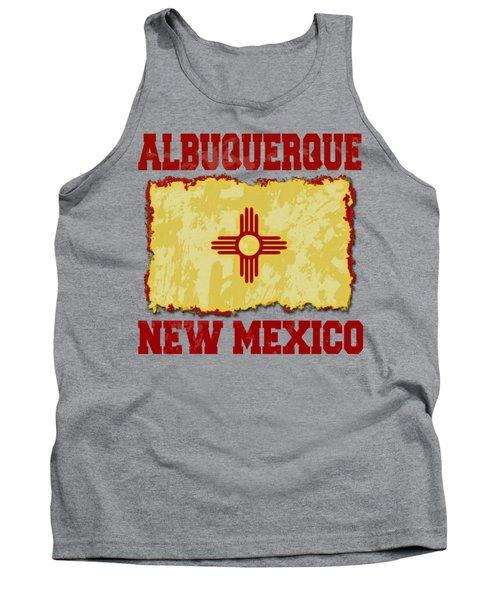 Albuquerque New Mexico Tank Top