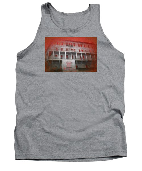 Alcatraz Federal Penitentiary Tank Top by Michael Cleere