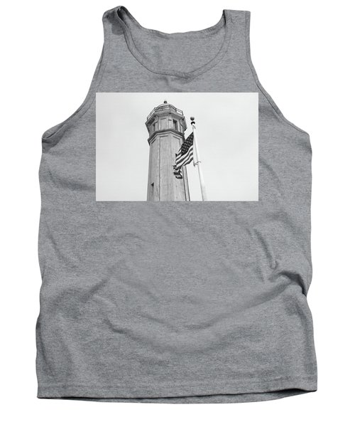 Tank Top featuring the photograph Alcatraz Light - San Francisco by Art Block Collections