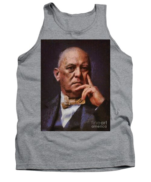 Aleister Crowley, Infamous Occultist Tank Top