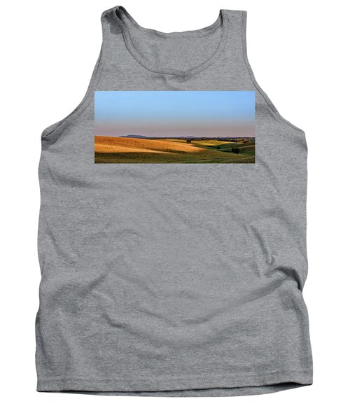 Tank Top featuring the photograph Alentejo Fields by Marion McCristall
