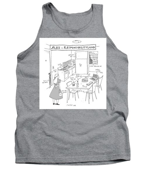 Alice In Responsibilityland Tank Top