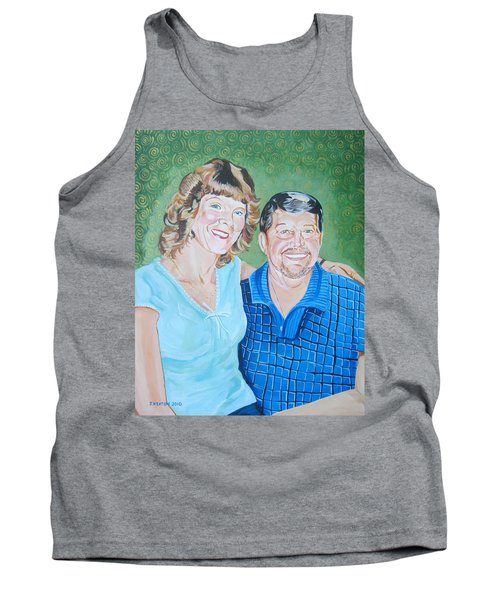 Alicia And Lee Tank Top by John Keaton