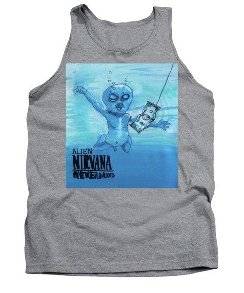 Alien Nevermind Tank Top