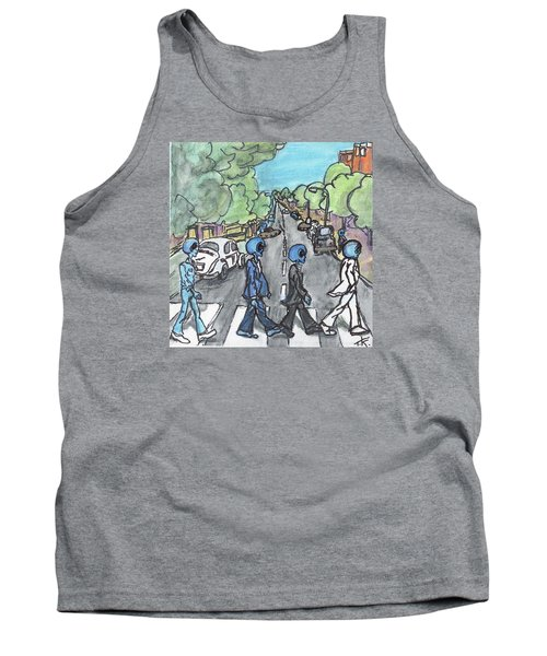 Alien Road Tank Top