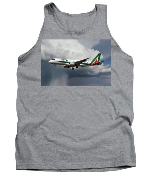 Alitalia Embraer Erj-175std Tank Top