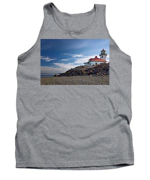 Alki Point Lighthouse Tank Top