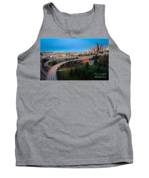 All Roads Lead To Seattle Tank Top