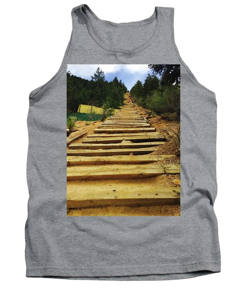 Tank Top featuring the photograph All The Way Up by Christin Brodie