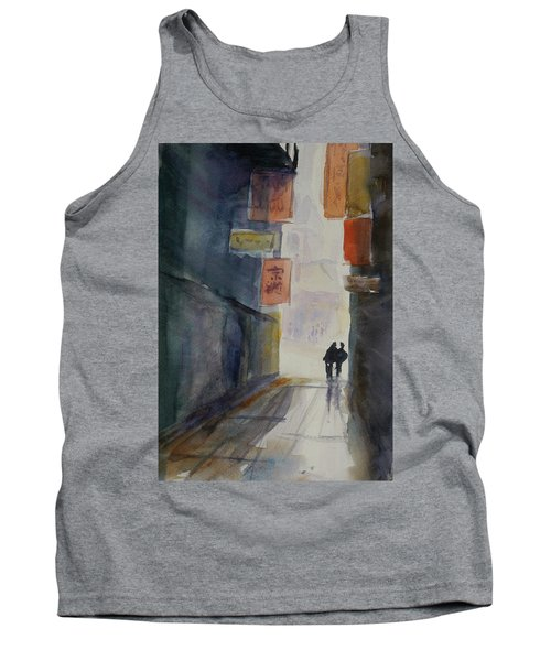 Alley In Chinatown Tank Top by Tom Simmons