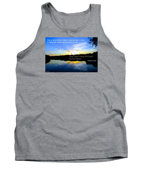 Tank Top featuring the photograph Allies by David Norman