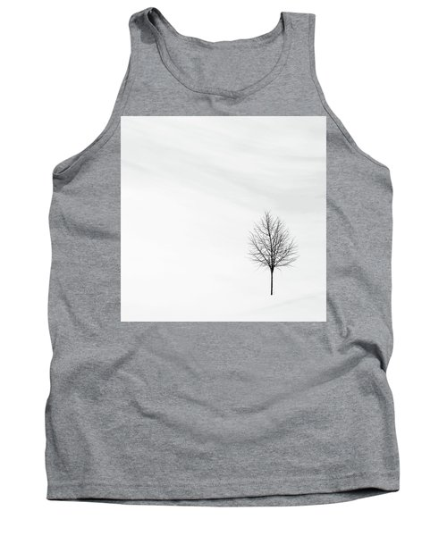 Tank Top featuring the photograph Alone In The Storm by Andrea Kollo