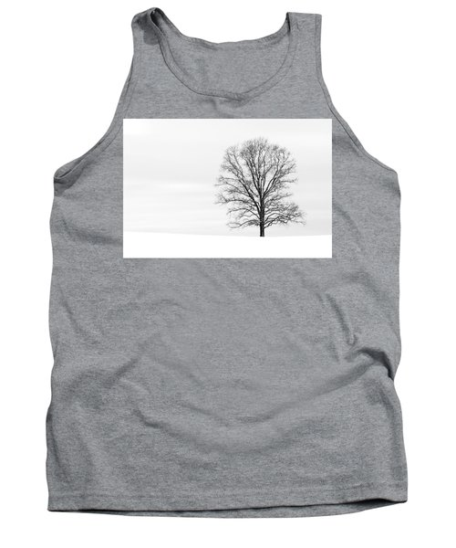 Alone On A Hill Tank Top