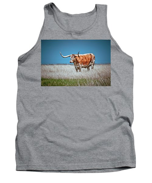Tank Top featuring the photograph Alone On The Trail by Linda Unger