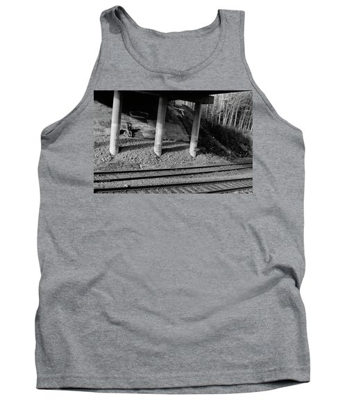 Tank Top featuring the photograph Alone Time by Tara Lynn