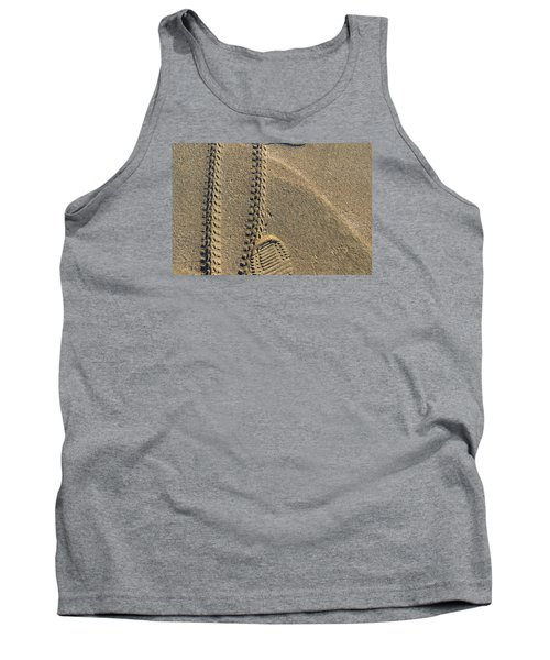 Along The Beach  Tank Top by Lyle Crump
