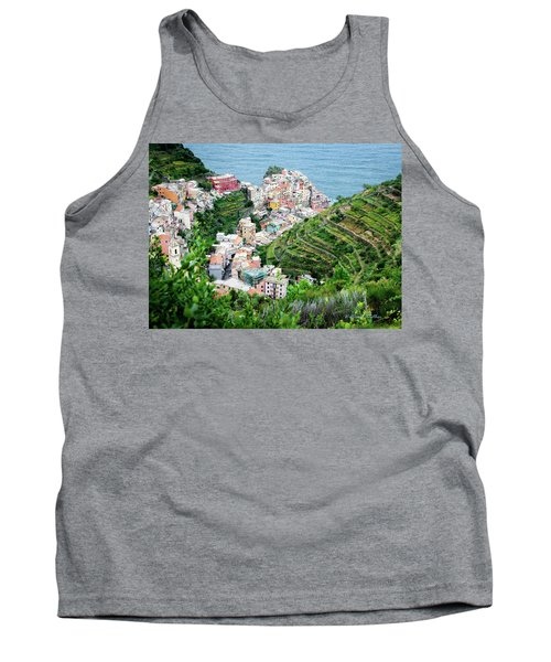 Along The Via Del Amore Tank Top by William Beuther