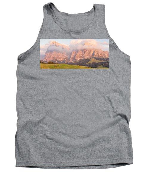 Alpe Di Suisi Sunset Panorama Tank Top