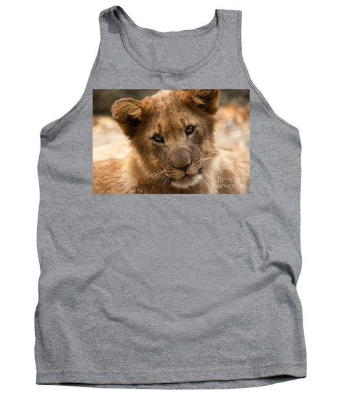 Tank Top featuring the photograph Am I Cute? by Christine Sponchia