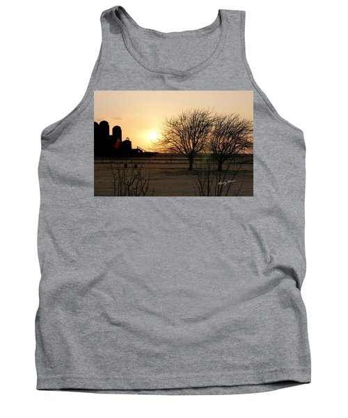 Amarillo Sunset Tank Top by Ricky Dean