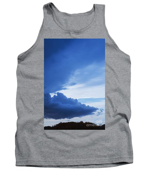 Amazing Blue Sky Vertical Tank Top