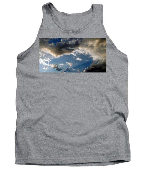 Amazing Sky Photo Tank Top