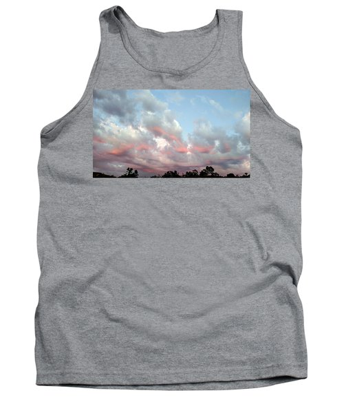 Amazing Clouds At Dusk Tank Top