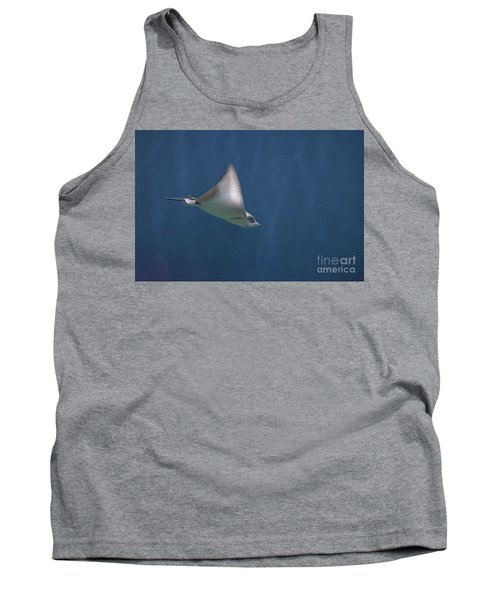 Amazing Stingray Underwater In The Deep Blue Sea  Tank Top