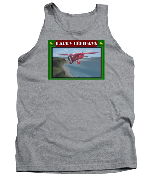 Tank Top featuring the painting Amelia's Vega Christmas Card by Stuart Swartz