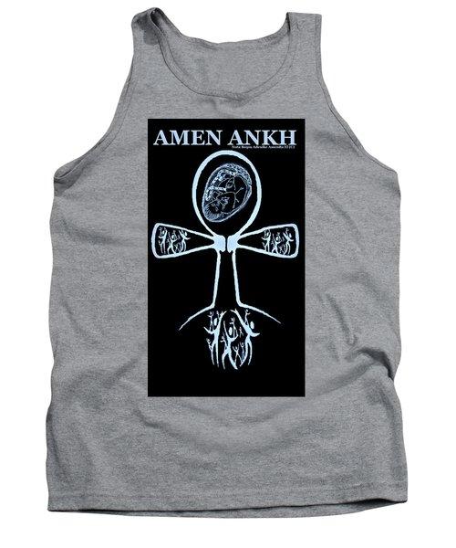 Amen Ankh Indigo Tank Top