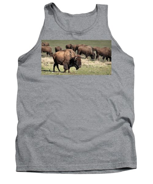 American Bison 5 Tank Top