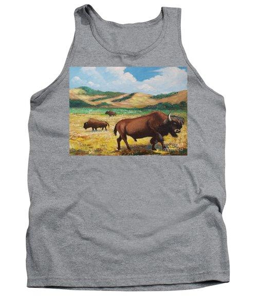 American Bison Tank Top