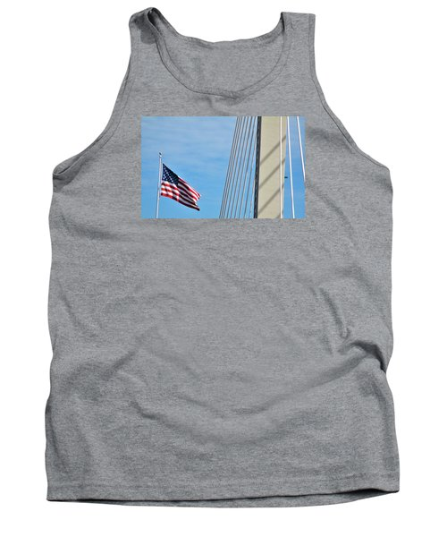 American Afternoon Tank Top by Martin Cline