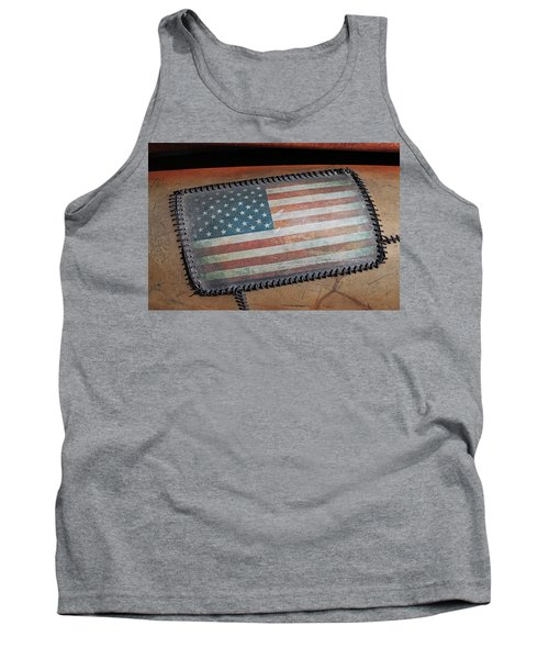 Tank Top featuring the photograph American Leather by Christopher McKenzie