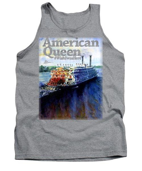 American Queen Shirt Tank Top