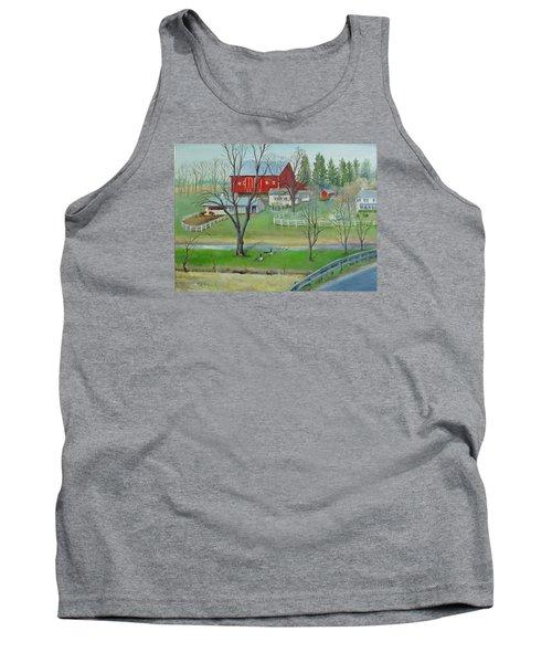 Amish Farm Tank Top by Oz Freedgood