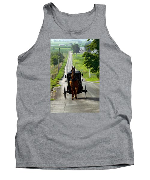 Amish Morning Commute Tank Top