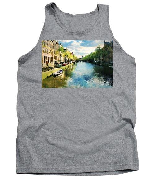 Amsterdam Waterways Tank Top