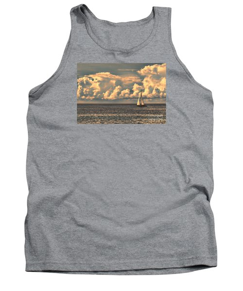 An Afternoon Sailing Tank Top by Steven Parker