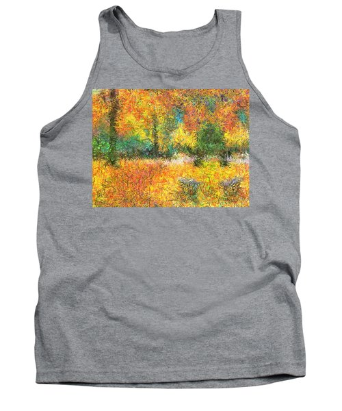An Autumn In The Park Tank Top