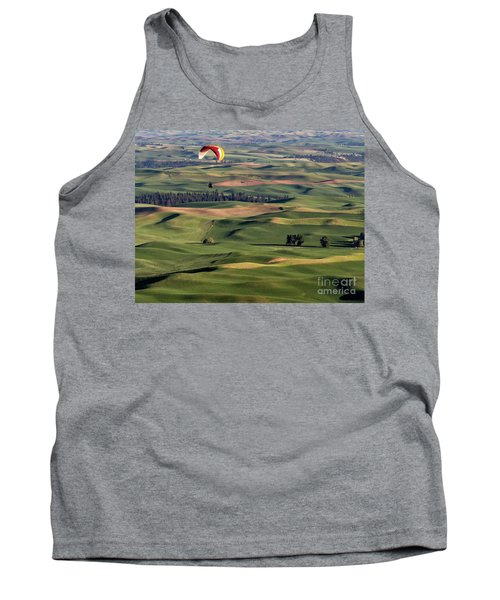 An Evening Flight Agriculture Art By Kaylyn Franks Tank Top