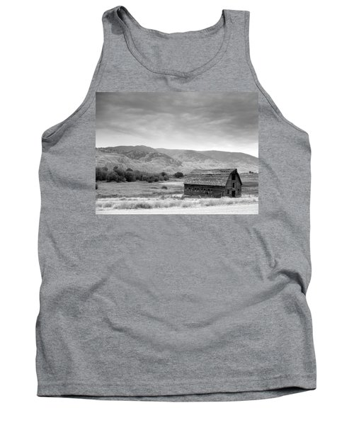 An Old Barn Tank Top by Mark Alan Perry