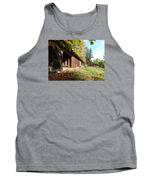 An Old Farm Tank Top by Mark Alan Perry