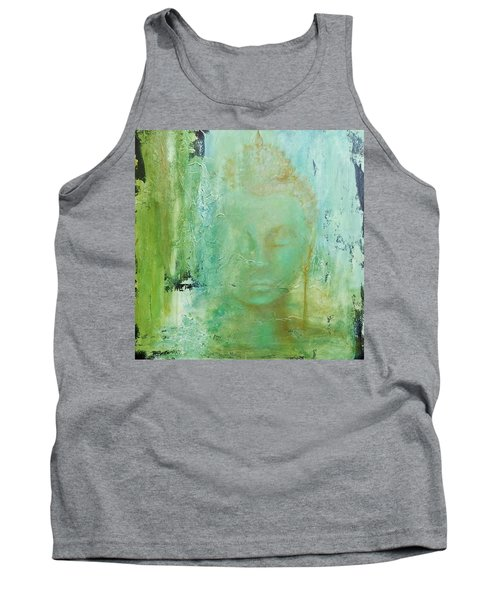 Tank Top featuring the painting Ancient Buddha by Dina Dargo