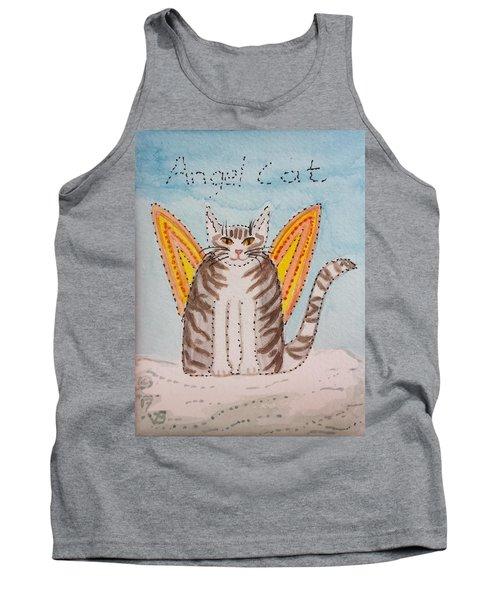 Angel Cat Tank Top